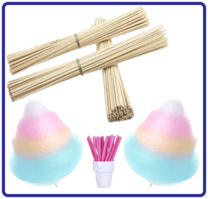 Candy Floss Sugars & Skewers