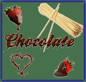 Chocolate Fountain Dip & Skewers