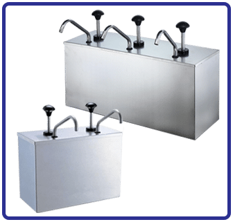 Condiment Dispenser available from Soft-Ice