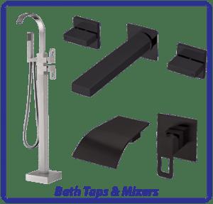 Bathroom Bath Taps & Mixers